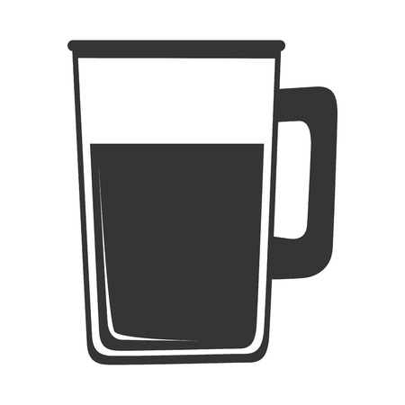 nutriments: delicious drink glass isolated flat icon design