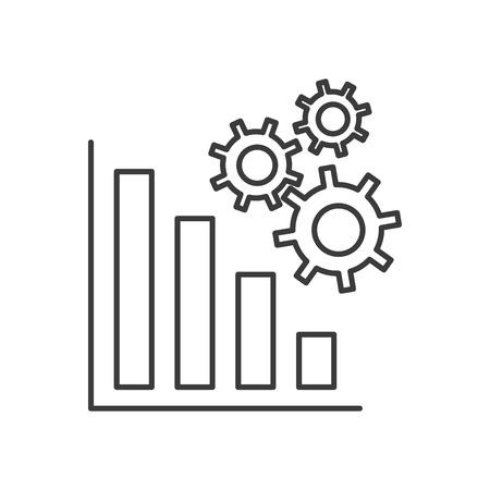 connexion: technology app design, vector illustration Illustration