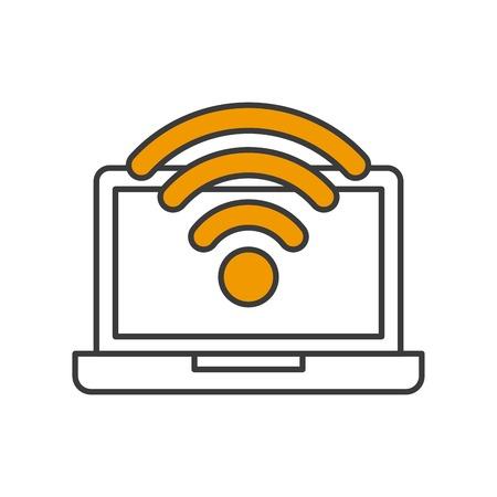 connexion: technology app design, vector illustration eps10 icon