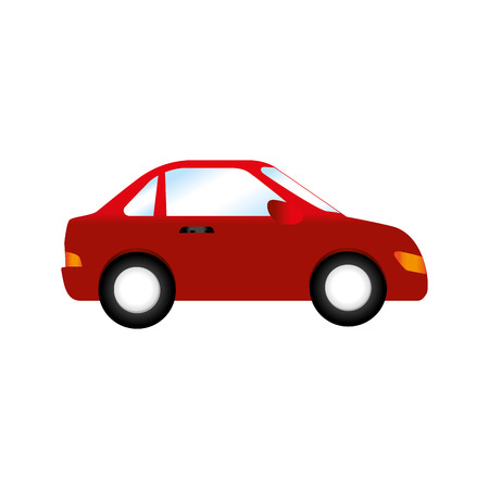 car side  vehicle auto automobile transport icon modern vector graphic isolated and flat illustration Illustration