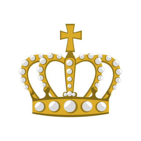 royal crown british london uk united kingdom royalty family vector graphic isolated and flat illustration
