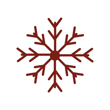 freeze: snow flake christmas cold freeze frost season winter vector graphic isolated and flat illustration