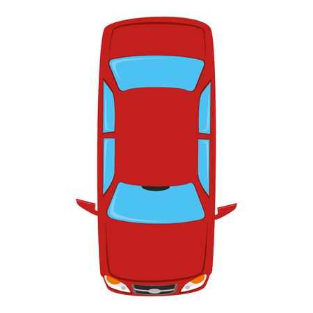 sedan: vehicle top transportation car sedan automobile vector graphic isolated and flat illustration