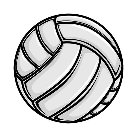 handball: volleyball ball game sport play handball object  vector graphic isolated shiny  illustration