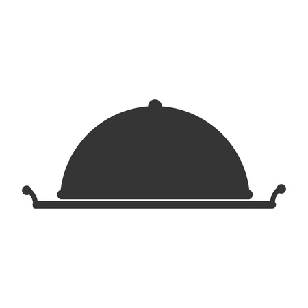 banquet: dish dining food cook hotel chef service banquet vector graphic illustration isolated flat Illustration