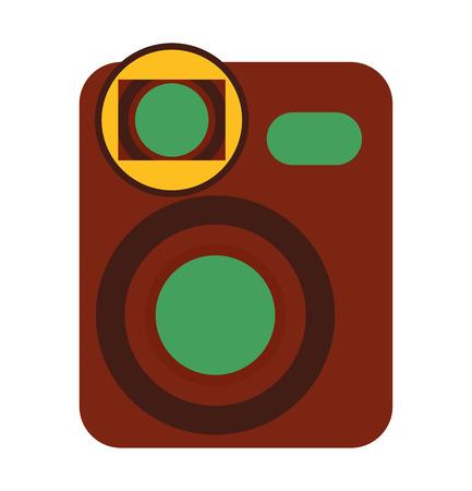 film movie camera icon vector illustration design