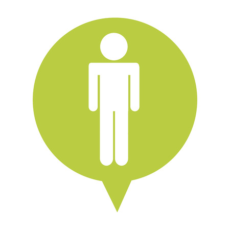 feedback sticker: speech bubble social media isolated icon vector illustration, eps10