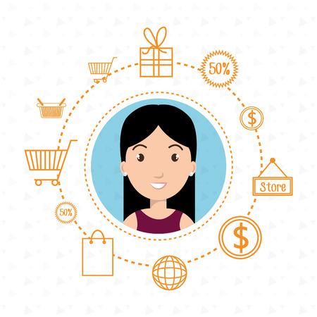 character money buy web vector illustration graphic Illustration