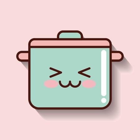 cooking pot: cooking pot vector illustration,  graphic design