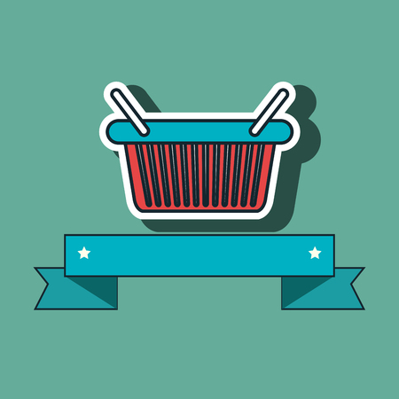 shopping cart buy discounts vector illustration graphic