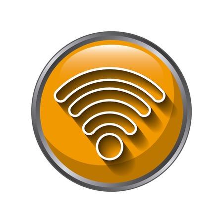 wifi icon design over white background,, vector illustration