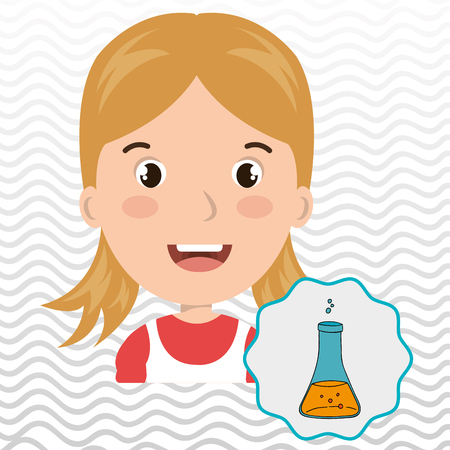child chat student school vector illustration graphic