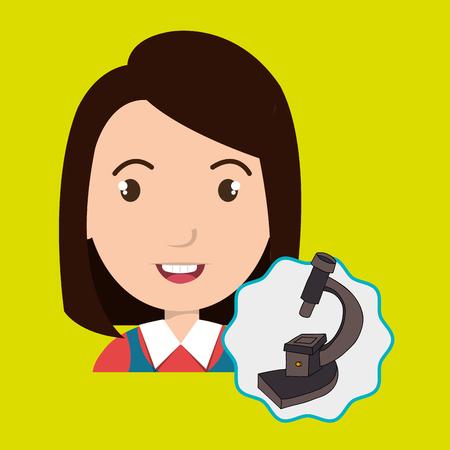 niños platicando: child chat student school vector illustration graphic