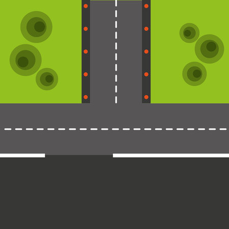 runway: airport runway isolated icon vector illustration design