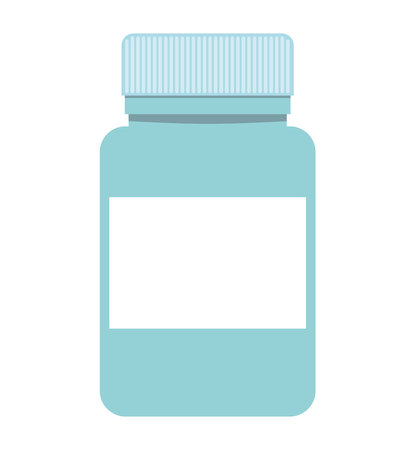 remedy: bottle drugs isolated icon vector illustration design
