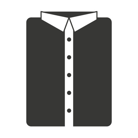 folded clothes: menswear clothing isolated icon vector illustration design