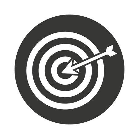 target arrow: target arrow isolated icon vector illustration design Stock Photo