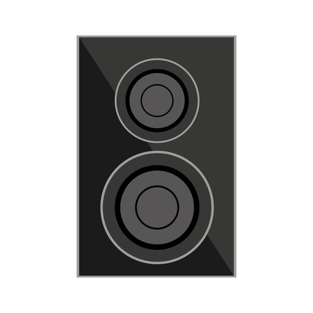 woofer: speaker home theater isolated icon vector illustration design