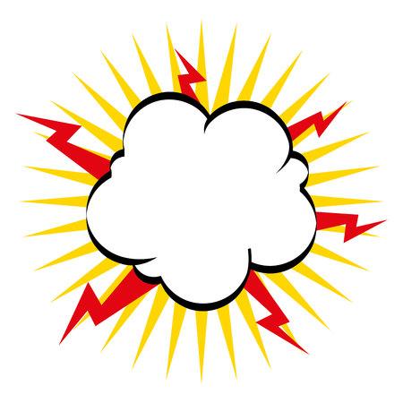 dynamite: boom explosion pop art vector illustration design