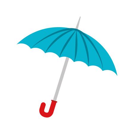 parasol: umbrella rain weather water parasol safety season vector illustration isolated Illustration