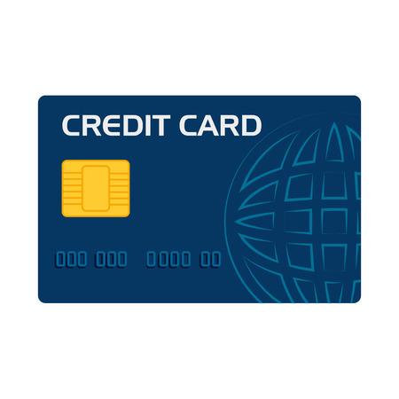 plastic money: card  credit  money pay  transaction plastic  chip money vector illustration isolated