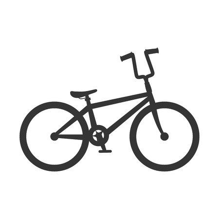 bicycle bike vehicle cycling object travel exercise active vector illustration isolated Stock Photo