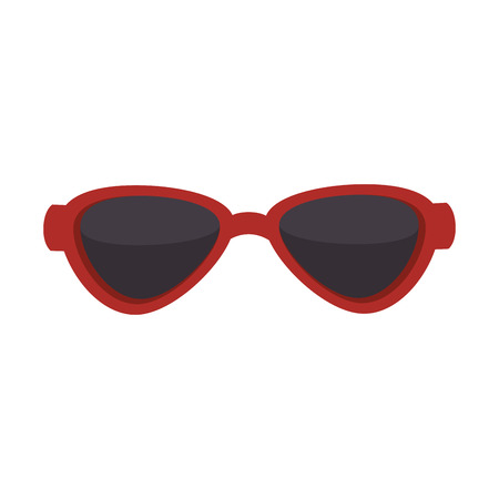 eyewear: sunglasses sun eyewear optical protection see glasses cool vector illustration isolated Illustration