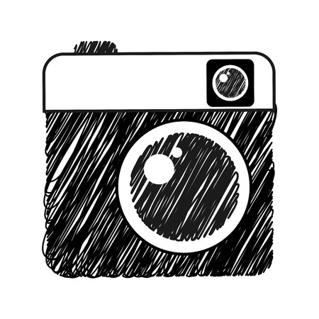 photographic: camera photographic isolated icon vector illustration design