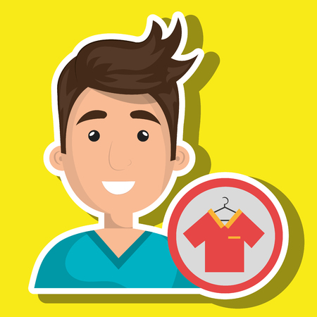 wear: man clothes wear vector illustration graphic Illustration