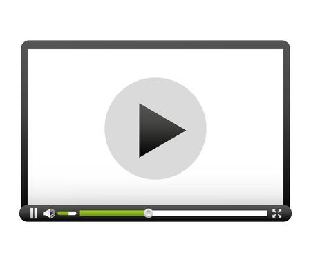 control panel: media player control panel icon vector illustration design