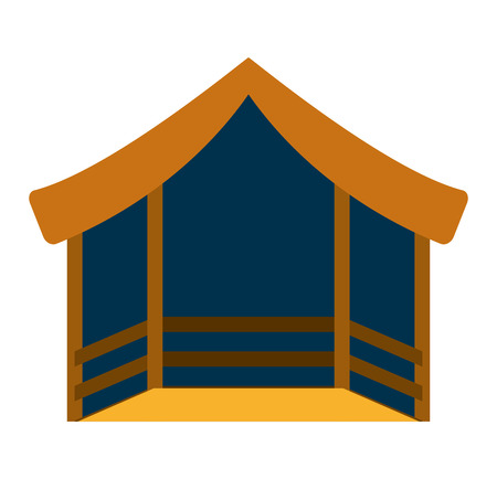 stable: stable manger isolated icon vector illustration design vector illustration design
