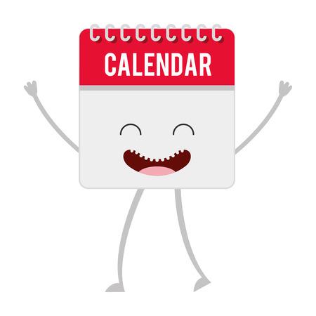 calendar design: calendar reminder isolated icon vector illustration design