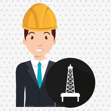 gallon: man gallon gasoline icon vector illustration graphic Illustration