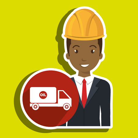 man gallon gasoline icon vector illustration graphic Illustration