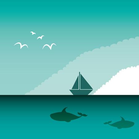 arctic landscape: arctic landscape isolated icon vector illustration design