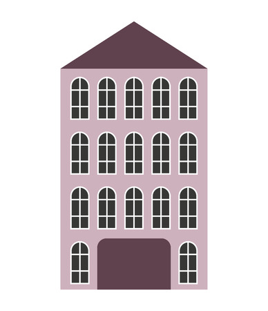 building construction: building construction isolated icon vector illustration design