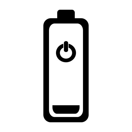 low energy: low battery energy charge electricity  power vector illustration Illustration
