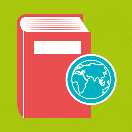 book literature library icon vector illustration design Illustration