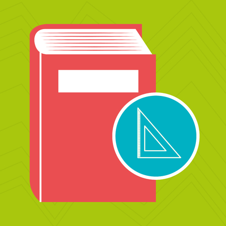 novel: book literature library icon vector illustration design Illustration