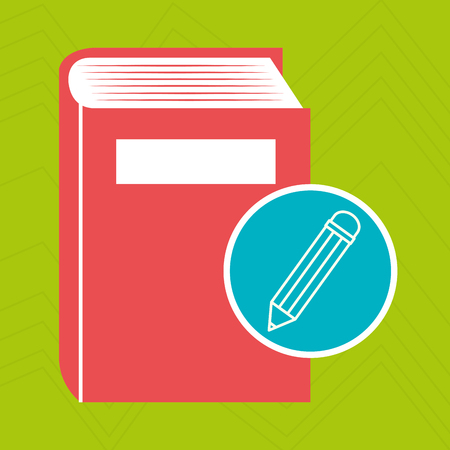 digital library: book literature library icon vector illustration design Illustration