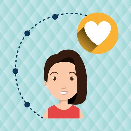 niños platicando: conexión chica icono de la aplicación ilustración vectorial de diseño