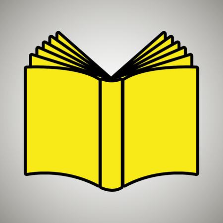 book literature library icon vector illustration design Illustration