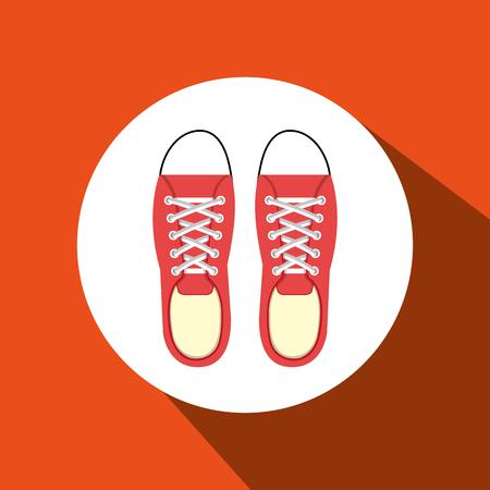 choosing clothes: jeans woman closet clothes vector illustration design