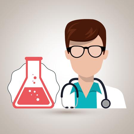 examenes de laboratorio: la química tubos de laboratorio médico