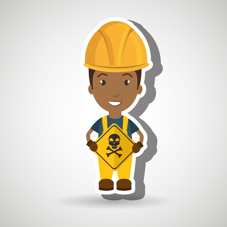 worker symbol danger