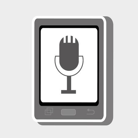 cellphone: smartphone cellphone technology Illustration