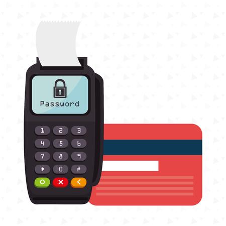password: dataphone password money secure Illustration