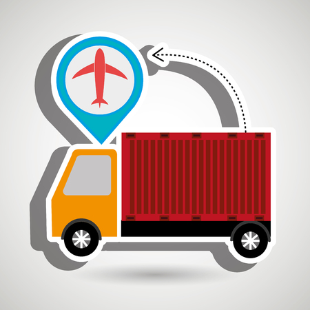 exporter: truck delivery cargo pin