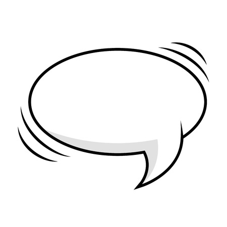 Chatter: comic bubble talk speech idea expression cartoon vector illustration