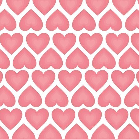 romance: background of heart love romantic passion romance vector illustration Illustration